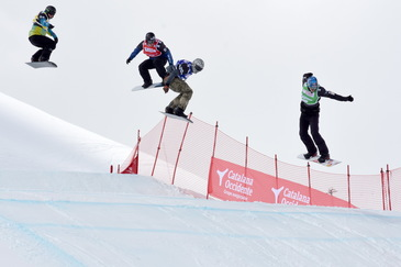 Four good reasons to enjoy the FIS Snowboard Cross World Cup in Baqueira Beret